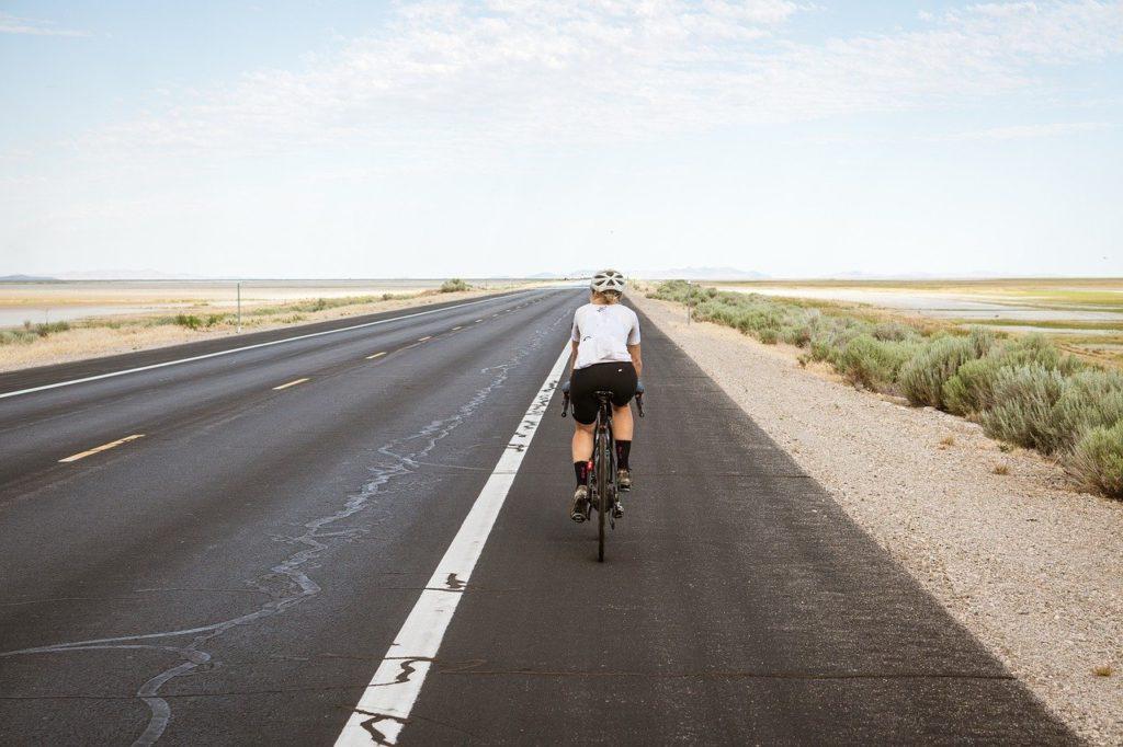 cyclist, cycling, biking